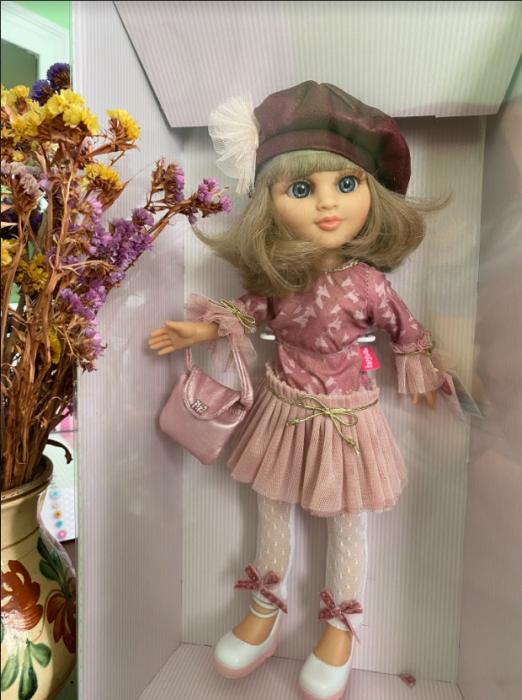 Papusa balerina Sofy Boina, colectia Boutique, Berjuan handmade luxury dolls 1