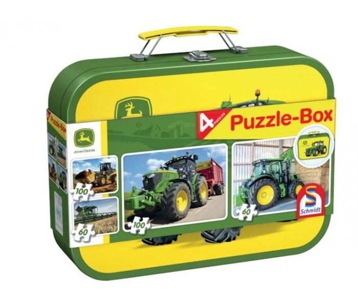 Set 4 puzzle agricultura John Deere, Schmidt 1