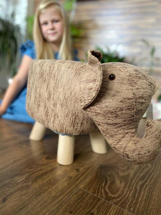 Taburet copii Elefant [2]