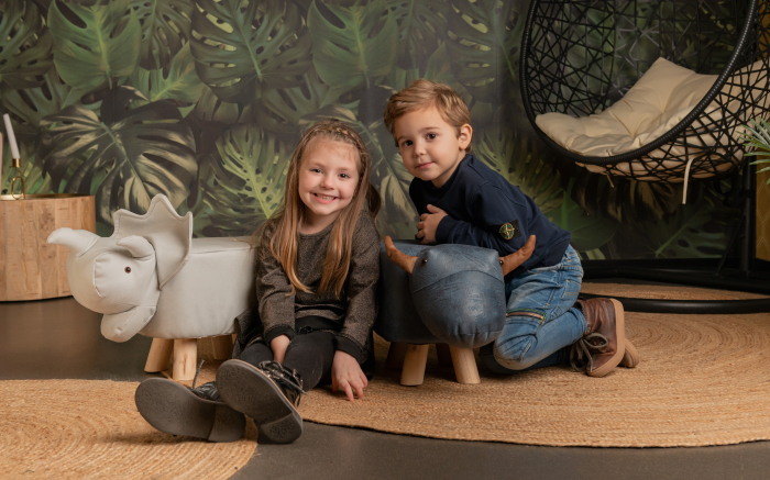 Taburet copii Elefant 4