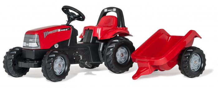 Tractor fara pedale Case si remorca RollyKid 0