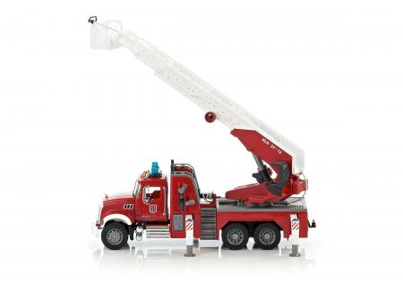 Camion pompieri Mack Granite cu pompa de apa - 59 x 20 x 26,5 cm0