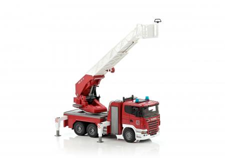 Masina de pompieri Scania cu pompa de apa, Bruder [4]