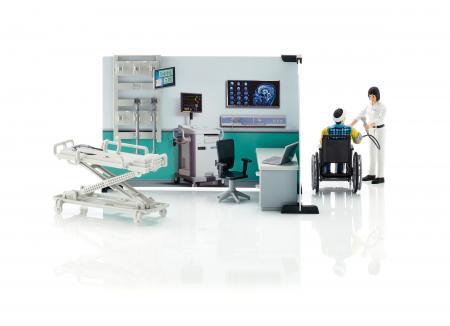 Jucarie Set infirmerie spital bworld -  35.1 x 25 x 17 cm0