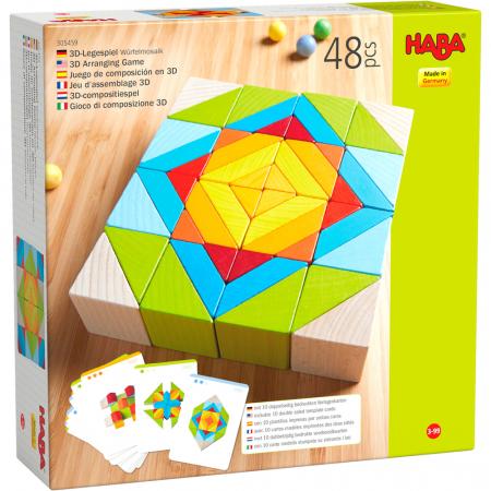 Joc 3D creativitate mozaic - 22x22x6.3 cm0