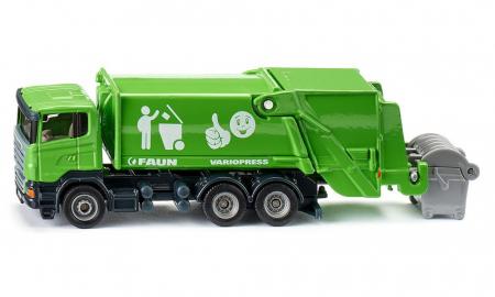 Jucarie macheta camion de recoltat gunoiul, Siku [0]