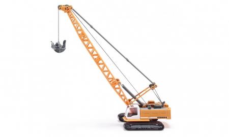 Jucarie macheta excavator tip macara cu cablu Liebherr, Siku [0]