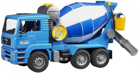 Camion betoniera de jucarie Man TGA Bruder [2]