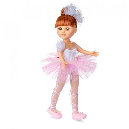 Papusa Eli balerina handmade, colectia Boutique - 43 cm0