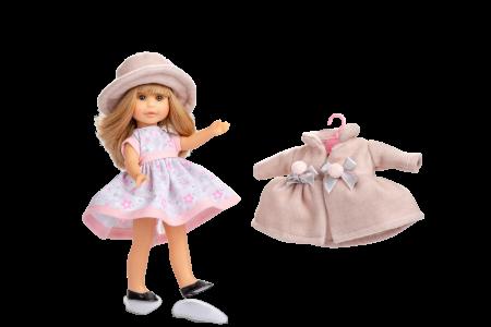 Papusa Irene Rubia set, colectia Boutique, Berjuan handmade luxury dolls [1]
