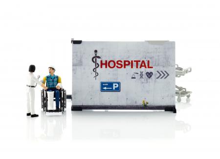 Jucarie Set infirmerie spital bworld -  35.1 x 25 x 17 cm1