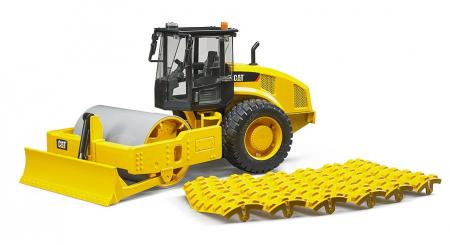 Jucarie cilindru compactor CAT cu lama de nivelare -41.5 cm x 17.1 cm x 22.0 cm1
