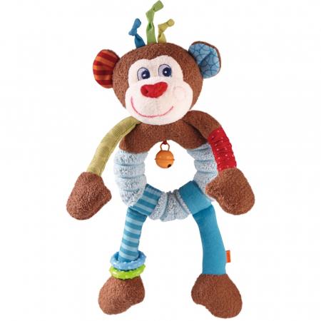 Figurina bebe de joaca maimuta Lino pentru bebe, Haba [0]