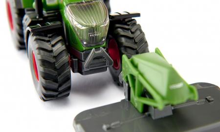 Jucarie macheta tractor Fendt 2020 942 Vario cu cositoare frontala, Siku [2]