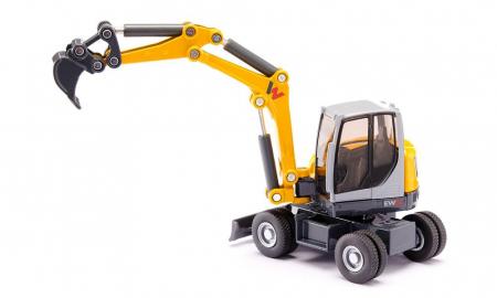Jucarie macheta excavator mobil Wacker Neuson EW65, Siku [2]