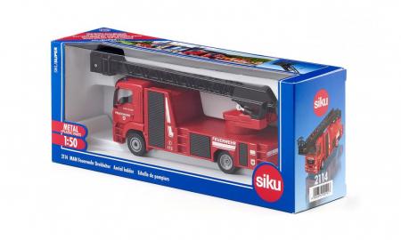 Jucarie macheta camion de pompieri MAN, Siku [1]