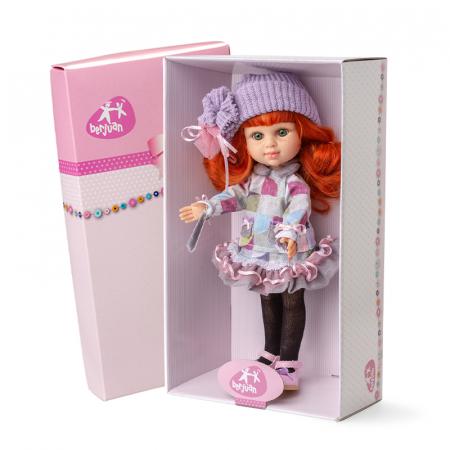 Papusa Pelirroja Lila, colectia My Girl, Berjuan handmade luxury dolls [1]