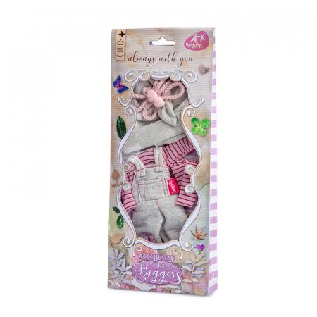 Articole vestimentare salopeta casual, colectia The Biggers,Berjuan handmade luxury dolls [1]