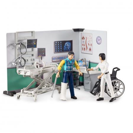Jucarie Set infirmerie spital bworld -  35.1 x 25 x 17 cm2