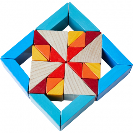 Joc 3D creativitate mozaic - 22x22x6.3 cm1