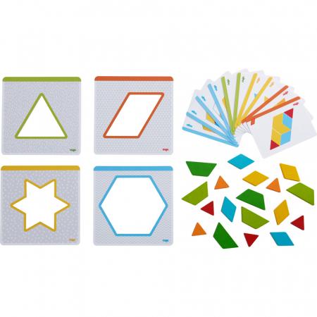 Joc creativitate forme colorate - 20x20x0.4 cm1