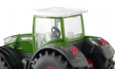 Jucarie macheta tractor Fendt 2020 942 Vario cu cositoare frontala, Siku [3]