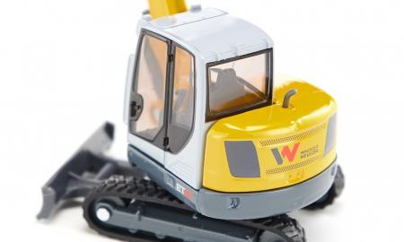 Jucarie macheta excavator Wacker Neuson ET65, Siku [3]