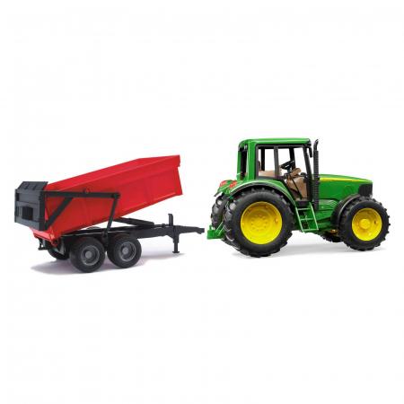 Jucarie Tractor John Deere 6920 cu remorca basculanta - 67 x 16,5 x 17,7 cm2