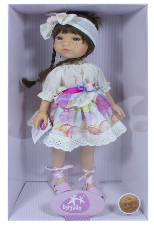 Papusa handmade Trenzas, colectia My Girl - 35 cm4