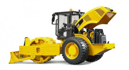 Jucarie cilindru compactor CAT cu lama de nivelare -41.5 cm x 17.1 cm x 22.0 cm3