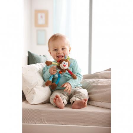 Figurina bebe de joaca maimuta Lino pentru bebe, Haba [2]