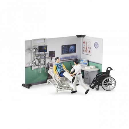 Jucarie Set infirmerie spital bworld -  35.1 x 25 x 17 cm3