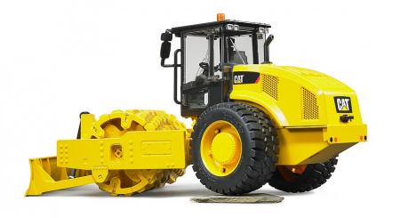 Jucarie cilindru compactor CAT cu lama de nivelare -41.5 cm x 17.1 cm x 22.0 cm4