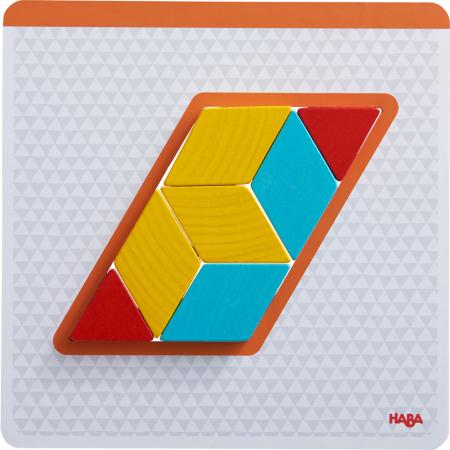Joc creativitate forme colorate - 20x20x0.4 cm3