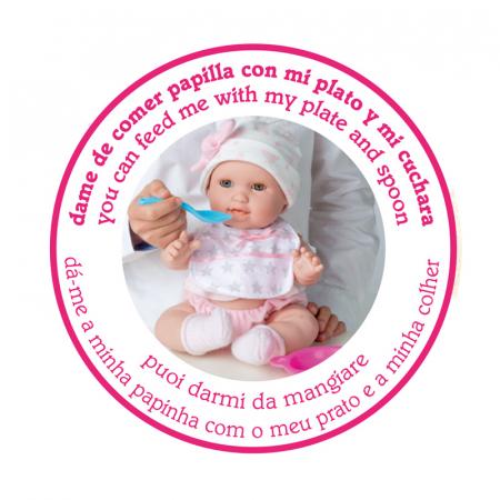 Bebelus fetita Rosa handmade, colectia Susu, Berjuan luxury dolls [5]