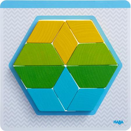 Joc creativitate forme colorate - 20x20x0.4 cm4