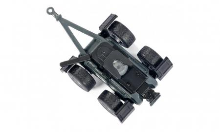 Jucarie macheta tractor Claas Axion cu incarcator frontal si basculanta, Siku [5]