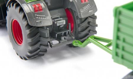 Jucarie macheta tractor Fendt 2020 942 Vario cu cositoare frontala, Siku [6]