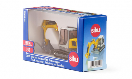 Jucarie macheta excavator Wacker Neuson ET65, Siku [6]