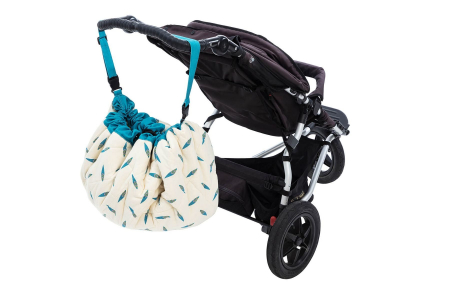 Saltea de joaca bebe si rucsac portabil 3 in 1 Play&Go cu print Moulin Roty Olga [6]
