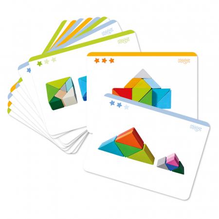 Joc 3D creativitate cub tangram - 21.9x21.9x6.3 cm7