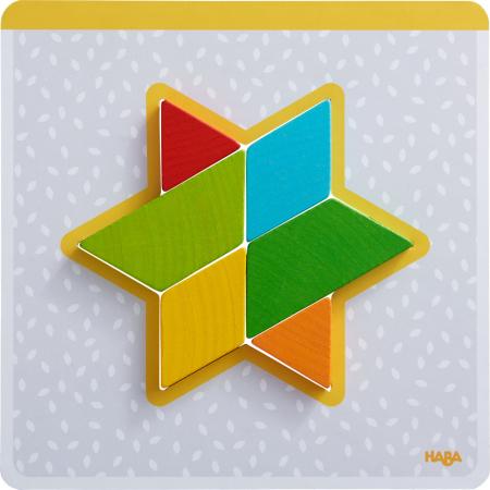 Joc creativitate forme colorate - 20x20x0.4 cm6
