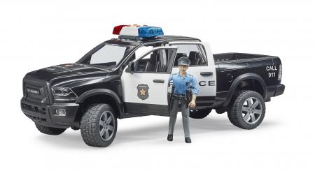 Jucarie Ram 2500 masina de politie+ figurina politist cu accesorii - 40 cm x 17 cm x 15 cm1