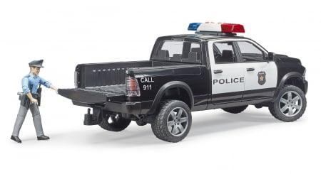 Jucarie Ram 2500 masina de politie+ figurina politist cu accesorii - 40 cm x 17 cm x 15 cm2
