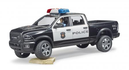 Jucarie Ram 2500 masina de politie+ figurina politist cu accesorii - 40 cm x 17 cm x 15 cm3