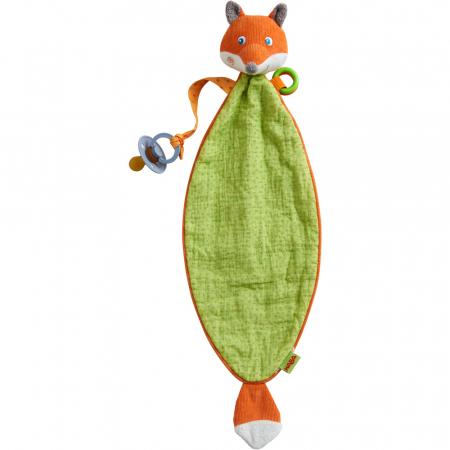 Accesoriu bebelusi vulpe cu loc de asezat suzeta - 50x15x7 cm0