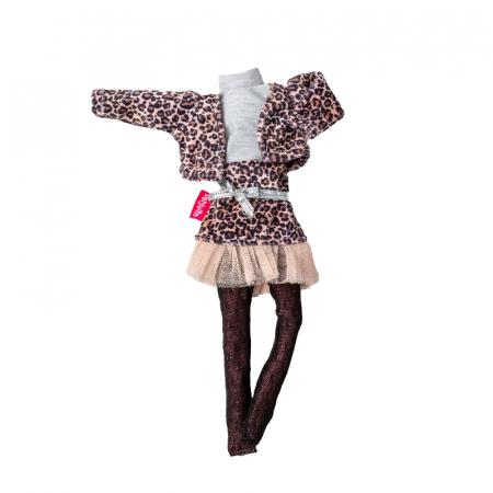 Articole vestimentare rochita animal print, colectia The Biggers -30 cm0