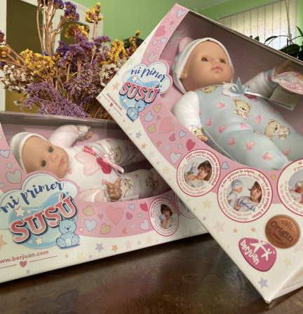 Bebelus baietel, colectia Susu, Berjuan handmade luxury dolls [2]