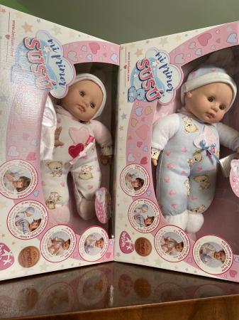 Bebelus baietel, colectia Susu, Berjuan handmade luxury dolls [5]