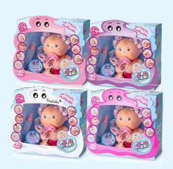 Bebelus fetita Pacaquita, colectia Popoloqas, Berjuan luxury dolls [1]
